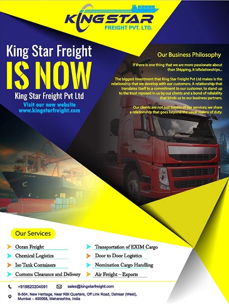 king-star-freight-banner